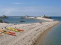 Ecrehous kayak boat trips La taile shingle bank IMG_5981