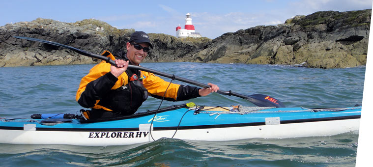 Mark Vogel, Coach bei Seakayaking Germany